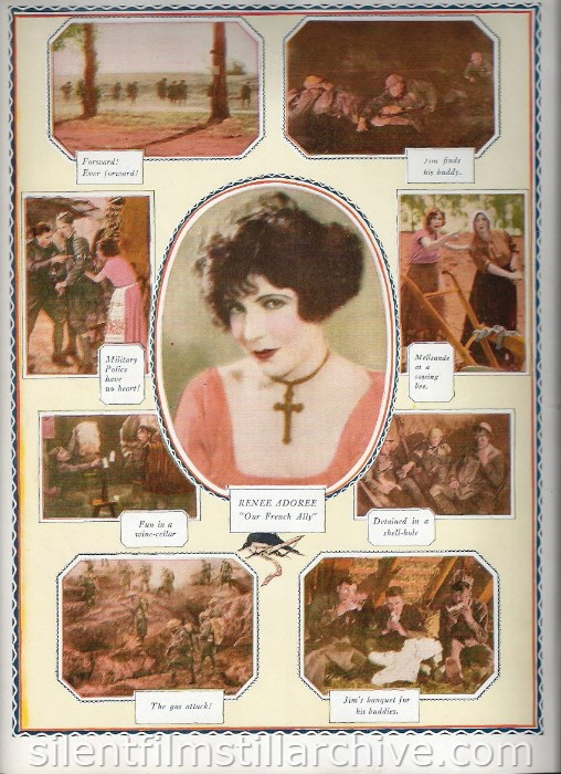 Program for THE BIG PARADE (1925) - Renée Adorée