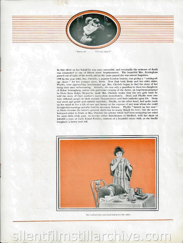 Branded (1920) pressbook withJosephine Earle