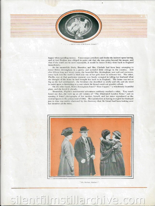 Branded (1920) pressbook with Josephine Earle
