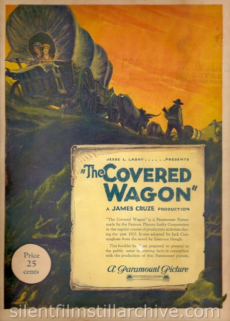 COVERED WAGON program cover