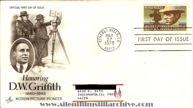 D.W. Griffith stamp