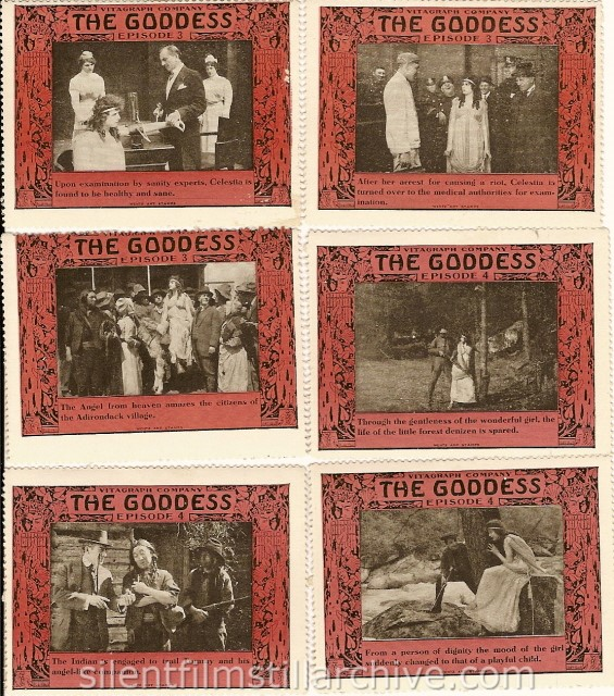THE GODDESS (1915) stamps