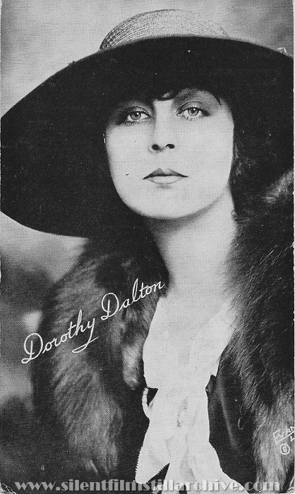 Oriental Theatre program, November 13, 1921, Jersey City, New Jersey, featuring Dorothy Dalton