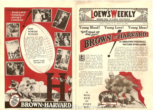 Loew's Greeley Square Theatre program