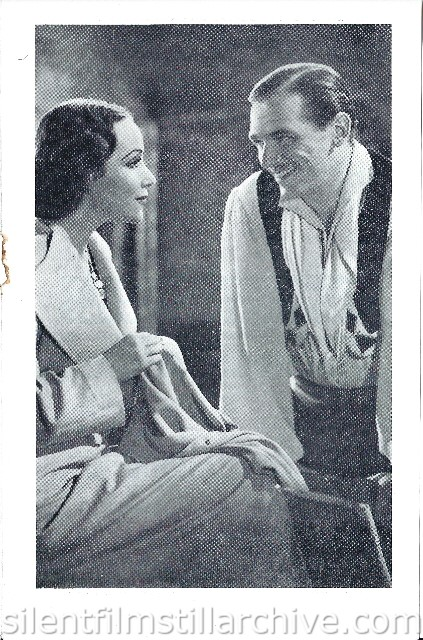 London Stoll Picture Theatre Kingsway, February 15th, 1937 program for ACCUSED (1936) with Dolores del Rio and Douglas Fairbanks, Jr.