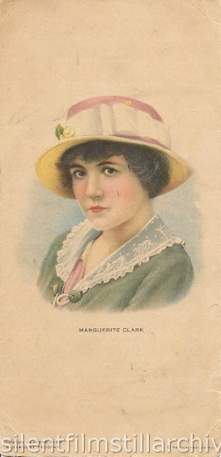 Gem Theatre, unknown location, January 15, 1917 program with Marguerite Clark