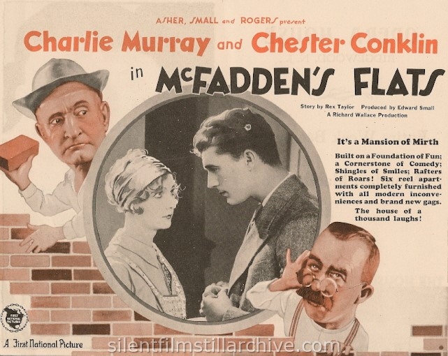 Charles Murray and Chester Conklin in McFADDEN'S FLATS (1927)