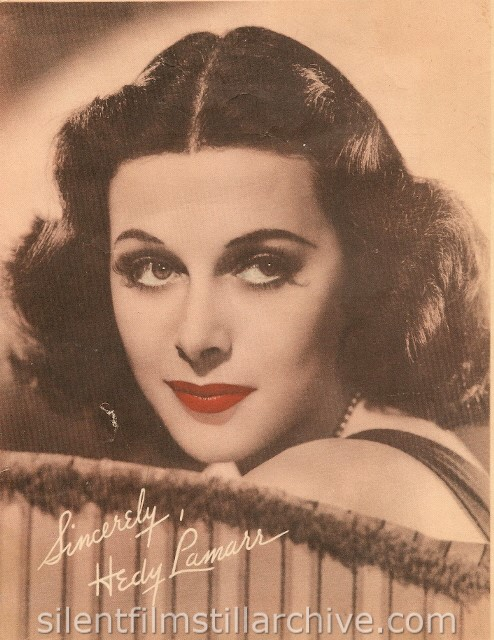 Hedy Lamarr publicity photo