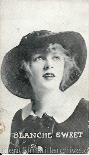 Cleveland Knickerbocker Theatre program with Blanche Sweet