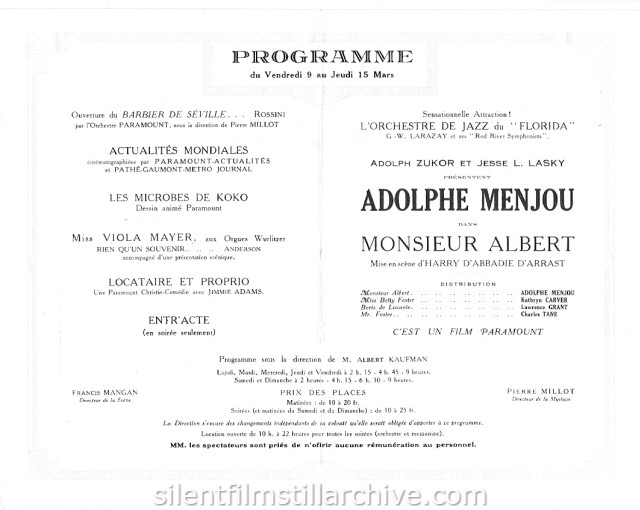 Paramount Paris program