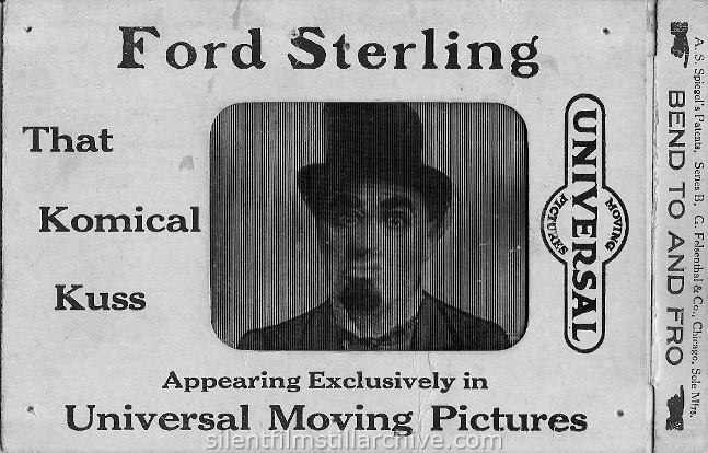Ford Sterling postcard