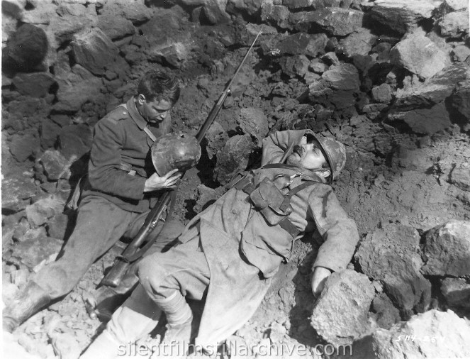 all quiet on the western front  lew ayres and raymond griffith in all quiet on the western front 1931
