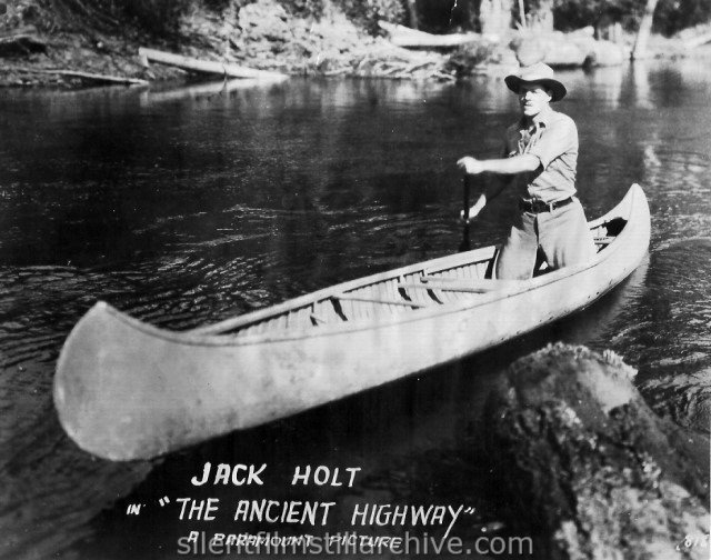Jack Holt in THE ANCIENT HIGHWAY (1920)