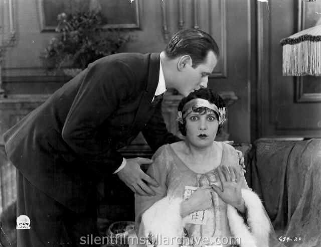 Victor Varconi and Leatrice Joy in CHANGING HUSBANDS (1924)