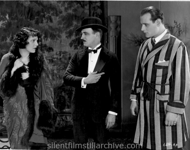 Leatrice Joy, Raymond Griffith, and Victor Varconi in CHANGING HUSBANDS (1924)