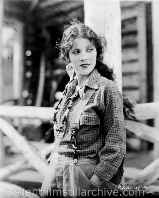 Olive Borden in THE COUNTRY BEYOND (1926)