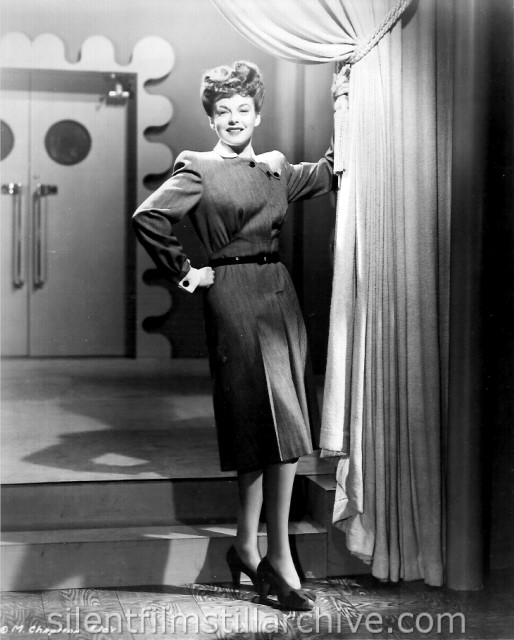 Marguerite Chapman in DESTROYER (1943)