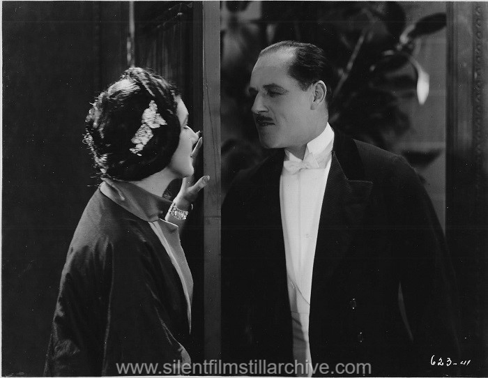 Nita Naldi and Jack Holt in DON'T CALL IT LOVE (1923)
