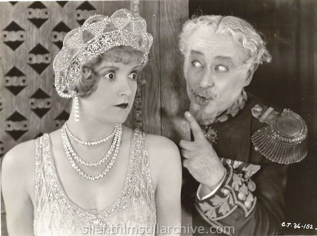 Constance Talmadge and Edward Martindel in THE DUCHESS OF BUFFALO (1926)
