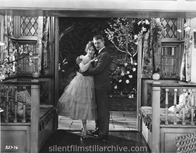 Lillian Gish and Ralph Forbes in THE ENEMY (1927)