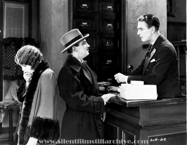 Eileen Percy, Raymond Griffith, and Percy Marmont in FINE CLOTHES (1925)