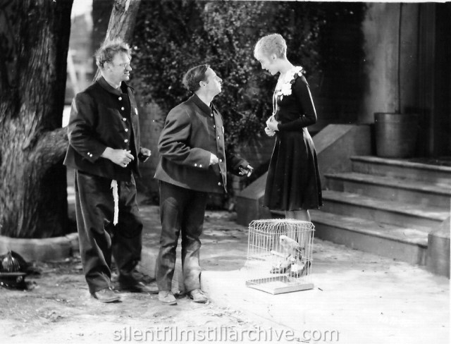 Wallace Beery, Raymond Hatton and Josephone Dunn in FIREMEN, SAVE MY CHILD (1927)