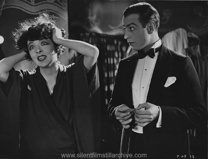 Colleen Moore and Alan Roscoe in FLIRTING WITH LOVE (1924)