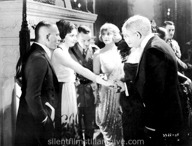 Erich Von Stroheim, Mae Busch, Maude George and Rudolph Christians in FOOLISH WIVES (1922)