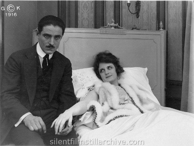 David Powell and Billie Burke in GLORIA'S ROMANCE (1916), Chapter 7 THE HARVEST OF SIN