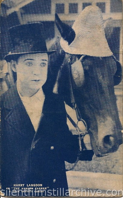 Harry Langdon in THE HANSOM CABMAN (1924)
