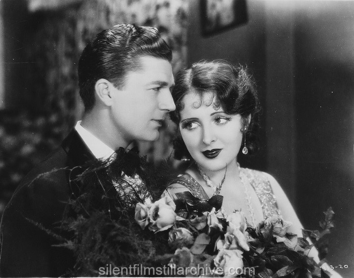 Larry Kent and Billie Dove in THE HEART OF A FOLLIES GIRL (1928)