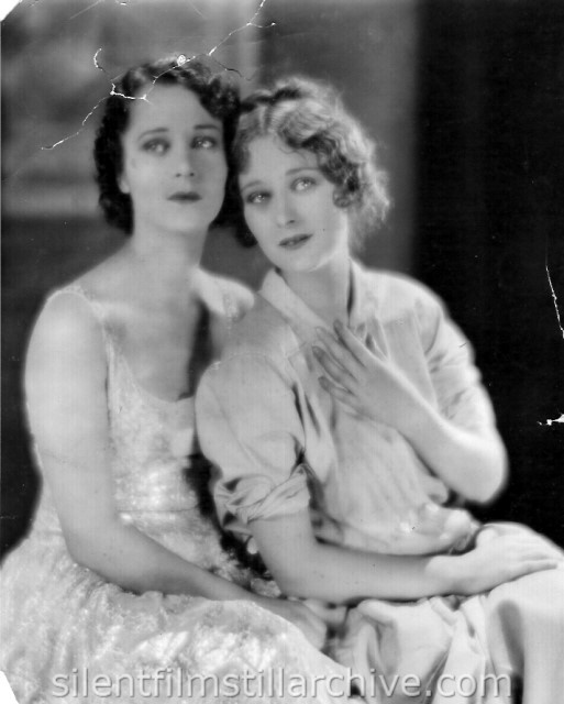 Helene Costello and Dolores Costello publicity photo