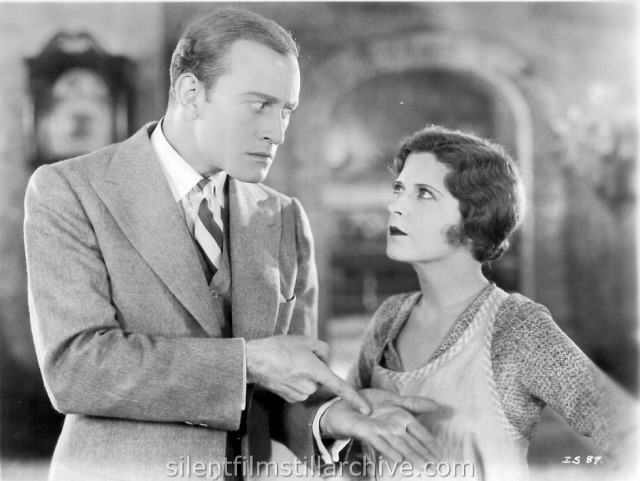 May McAvoy and Conrad Nagel in IF I WERE SINGLE (1927)