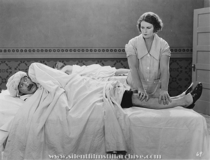 James Finlayson in LADIES NIGHT IN A TURKISH BATH (1928)