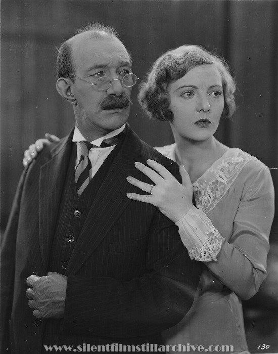 James Finlayson and Dorothy Mackaill in LADIES NIGHT IN A TURKISH BATH (1928)