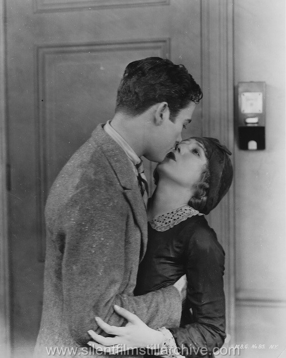 "Charles ""Buddy"" Rogers and Mary Pickford in MY BEST GIRL (1927)."