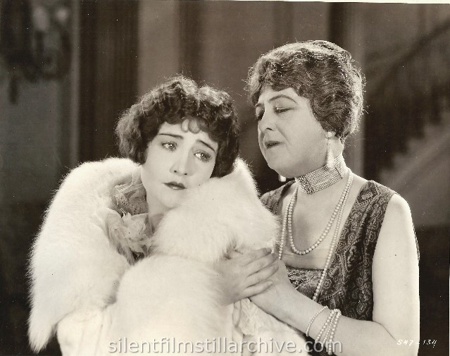 Betty Compson and Margaret Seddon in NEW LIVES FOR OLD (1925).