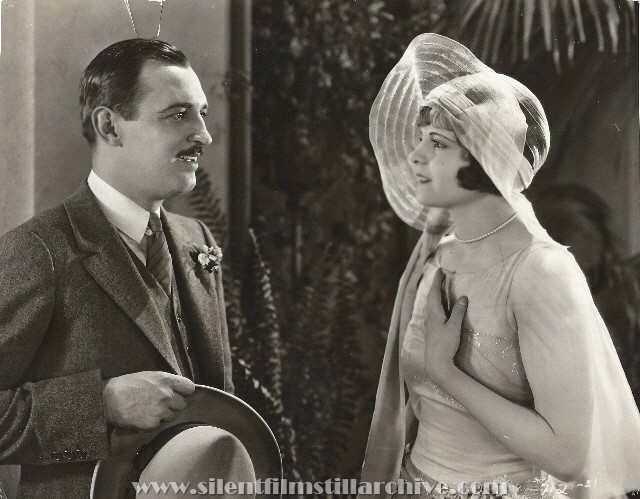 Raymond Griffith and Vera Reynolds in THE NIGHT CLUB (1925)