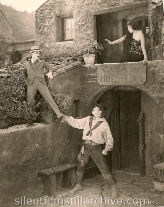 Raymond Griffith, Wallace Beery, and Louise Fazenda in THE NIGHT CLUB (1925)