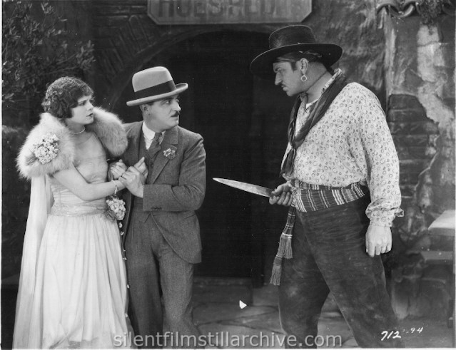 Vera Reynolds, Raymond Griffith, and Wallace Beery in THE NIGHT CLUB (1925)