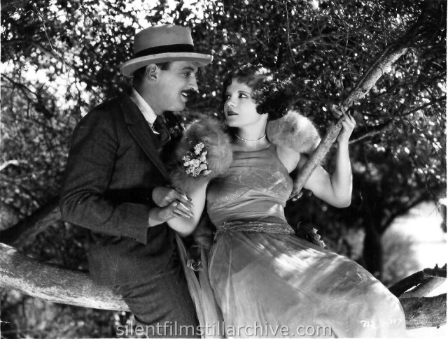 Vera Reynolds and Raymond Griffith in THE NIGHT CLUB (1925)