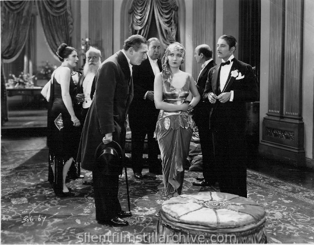 Lew Cody, Dorothy Sebastian and Roy D'Arcy in ON ZE BOULEVARD (1927)