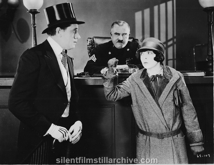 Fred Kelsey and Colleen Moore in ORCHIDS AND ERMINE (1927)