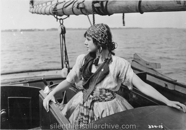 Gladys Hulette in PRUDENCE THE PIRATE (1916)