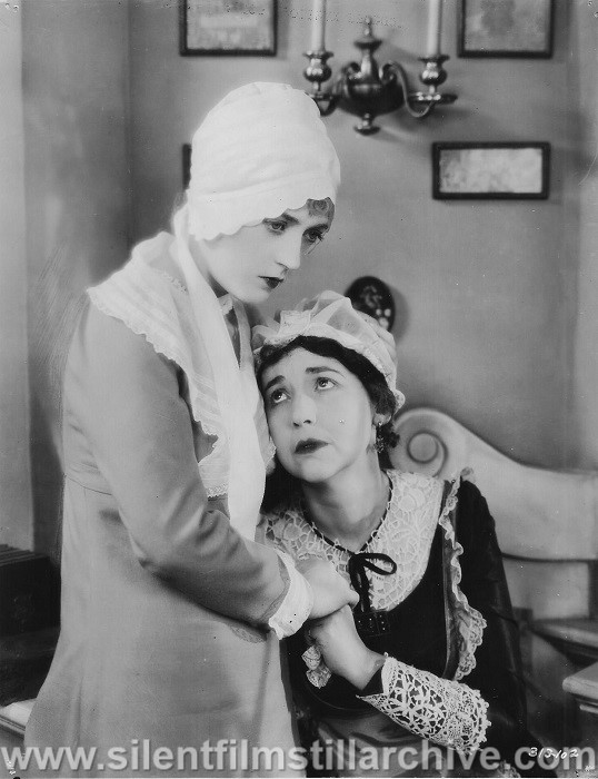 Marion Davies and Helen Jerome Eddy in QUALITY STREET (1927)
