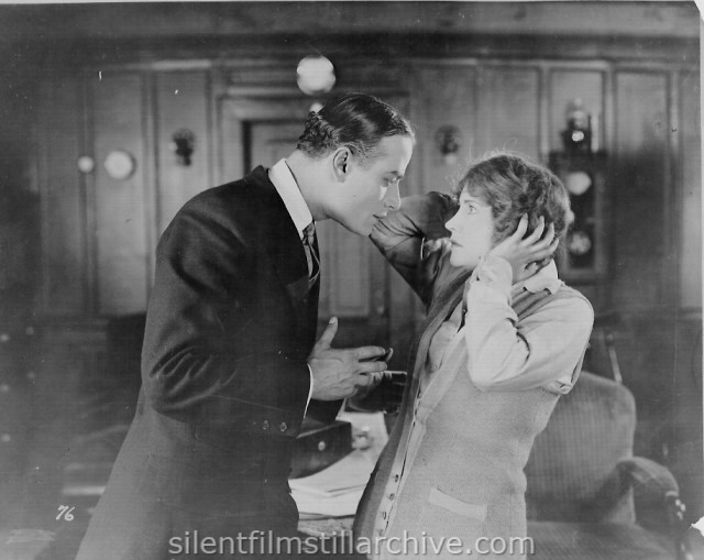 John Davidson and Betty Compson in RAMSHACKLE HOUSE (1924)