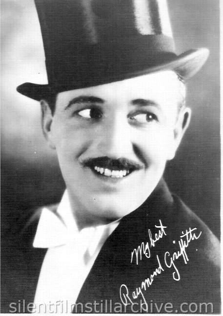 Raymond Griffith Fan Publicity Photo