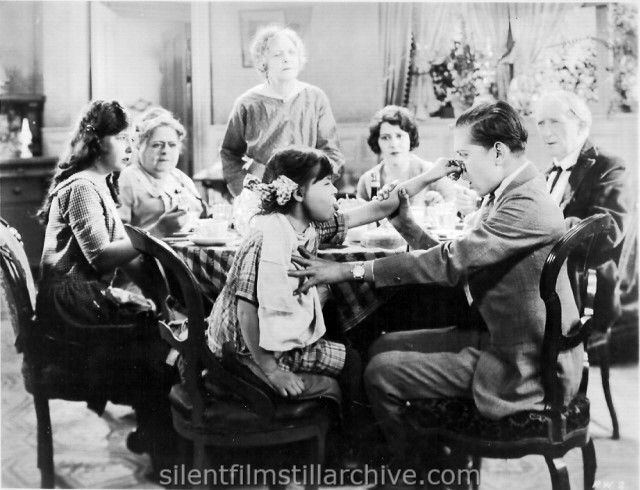 Barbara Luddy, Carrie Clark Ward, Lydia Knott, Patsy Ruth Miller, Edward Peil Jr. and Alec B. Francis in ROSE OF THE WORLD (1925)