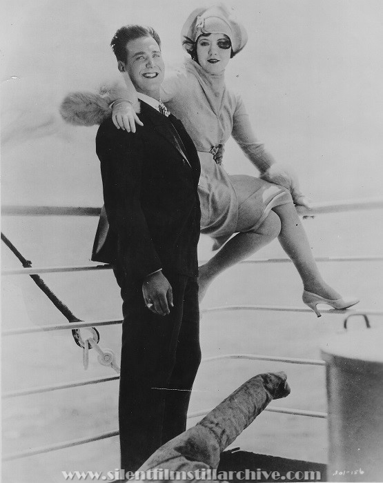 Harrison Ford and Marie Prevost in THE RUSH HOUR (1928).