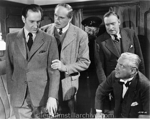 Sherlock Holmes: Terror by Night Starring Basil Rathbone, Nigel Bruce, with Alan Mowbray